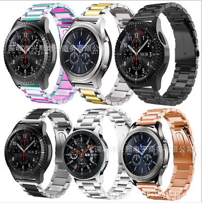 AU9.99 • Buy Stainless Steel Metal Strap Watch Band For Samsung Galaxy Watch 3 45MM / 46mm
