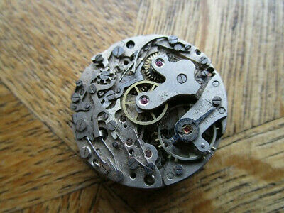 $ CDN101.45 • Buy Vintage Used VALJOUX Chronograph Manual Movement Cal. Valjoux 77. For Parts.