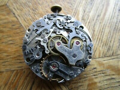 $ CDN226.69 • Buy Vintage Used RICHARD Chronograph Manual Movement Cal. Valjoux 77. For Parts.