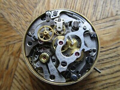 $ CDN255.57 • Buy Vintage Used LEMANIA Chronograph Manual Movement Cal. LWO 1275. For Parts.