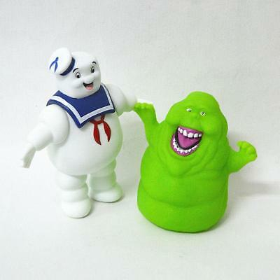AU27.99 • Buy Marshmallow Man + Slimer Green Ghost Ghostbusters  Action Figure Kids Toys Doll