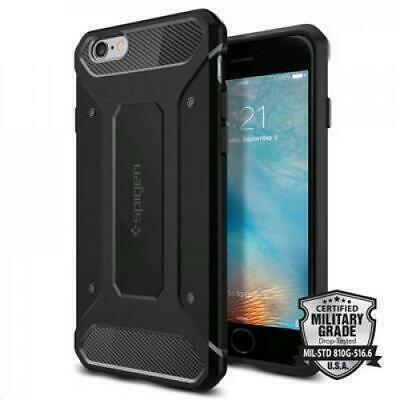 AU26.44 • Buy Spigen IPhone 6s/6 (4.7 ) Rugged Armor Case-Black,Ultimate Protection,Rugged Des