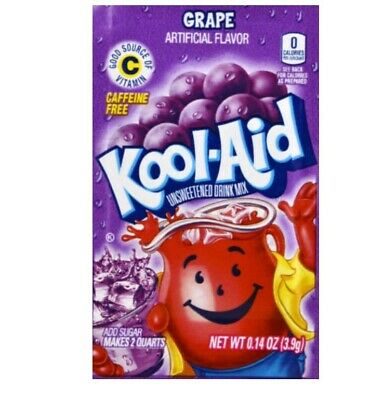 🍇🍇🍇Kool-Aid Drink Mix Grape 8 Packets Grape 🍇🍇🍇🍇🍇🍇🍇🍇🍇🍇🍇🍇🍇🍇🍇🍇 • 4.59£