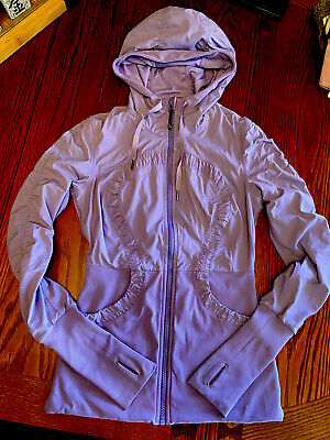 $ CDN75 • Buy EUC Lululemon Dance Studio Jacket❤️Size 6❤️ Purple- Reversible- Like New!