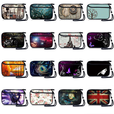Pouch Mobile Phone Bag Case Cover Wristlet W/Zip For 5.5  IPhone 8/7/6S/6 Plus • 6.99£