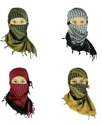 $9.99 • Buy Men And Women Tactical Military Shemagh Cotton Desert Scarf Keffiyeh Head Wrap