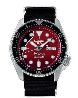 $ CDN753.08 • Buy SEIKO 5 SRPE83 Limited Brian May Queen Automatic Watch 4R36 Red Special NEW
