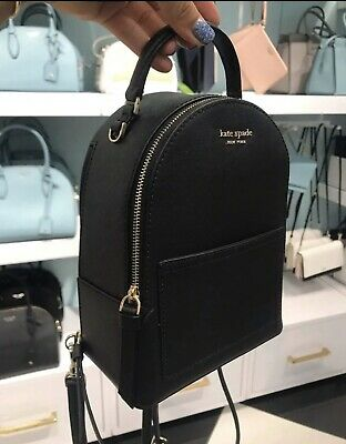$ CDN167.38 • Buy Kate Spade Convertible Mini Backpack Black