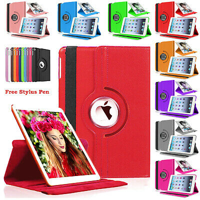 £3.89 • Buy 360 Rotating Smart PU Leather Book Flip Stand Case Cover For Apple IPad 2/3/4