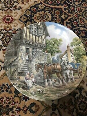 £40 • Buy Set Of 8 Collectors Plates  Life On The Farm