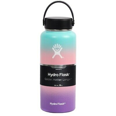 $26.50 • Buy Hydro Flask 32 Oz Vacuum Insulated Stainless Steel Leak Proof Multi Color Pink/b
