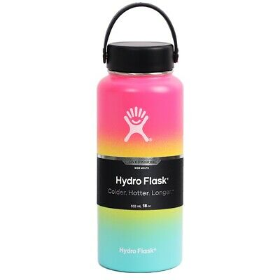 $26.50 • Buy Hydro Flask 32 Oz Vacuum Insulated Stainless Steel Leak Proof Multi Color Pink