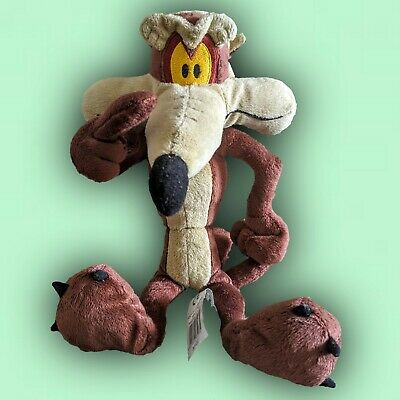 Looney Tunes Wile E Coyote Soft Plush Toy From Roadrunner WBros By Boots 13  • 6.99£