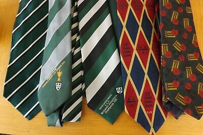 Worcestershire CCC  Ties X 12 - Very Good Condition • 12£
