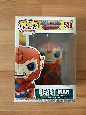$19.95 • Buy Funko Pop TV Masters Of The Universe Beast Man 539 Rare Vaulted Vinyl W Protecto