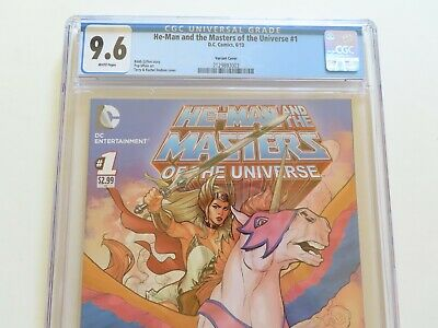 $675 • Buy He-Man & Masters Of The Universe #1 CGC 9.6 Variant She-Ra Dodson DC 2013 HTF!