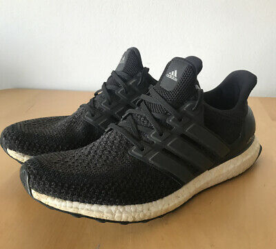 AU69.50 • Buy Adidas Ultra Boost Core Black & White Sneakers UK10.5 US11 EUR45