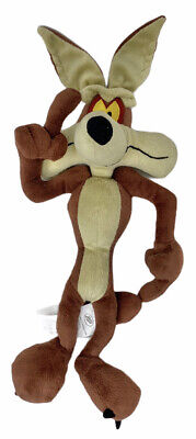 Looney Tunes Wile E. Coyote Warner Bros Plush Soft Toy Doll Figure Road Runner • 12.99£