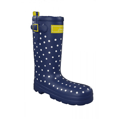 £9.95 • Buy Joules Rubber Welly Dog Toy - Navy Spotty