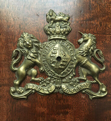 Antique Royal Warrant Safe Plaque/Plate In Outstanding Condition • 19.99£