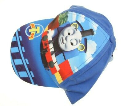 Childrens Kids Summer Hat Or Cap Thomas The Tank Engine Friends New Blue • 1.75£