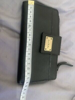 Jane Shilton Black Purse Wallet Vintage Retro • 10£