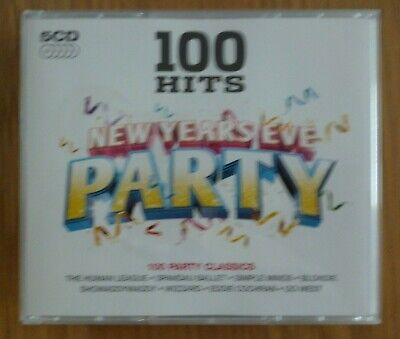 New Years Eve Party- 100 Hits On 5 CDs • 5.50£