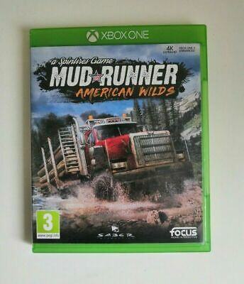 AU34.50 • Buy Mudrunner - American Wilds Xbox One