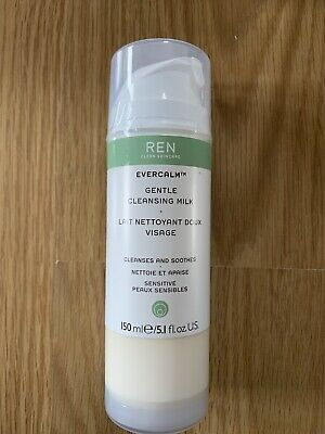 REN Evercalm Gentle Cleansing & Soothing Multi-action Milk 150ml #7805 NEW  • 10£