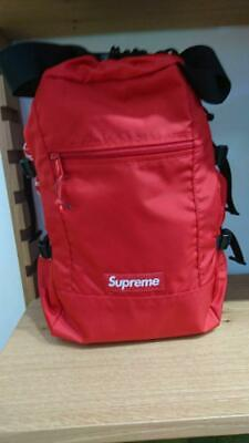 $ CDN365.97 • Buy Supreme New Red Backpack Fast Free Shipping From Japan With Tracking !!! (6527N)