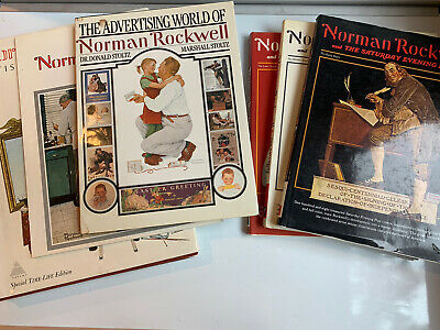 $ CDN62.77 • Buy Lot Of 6 NORMAN ROCKWELL Books