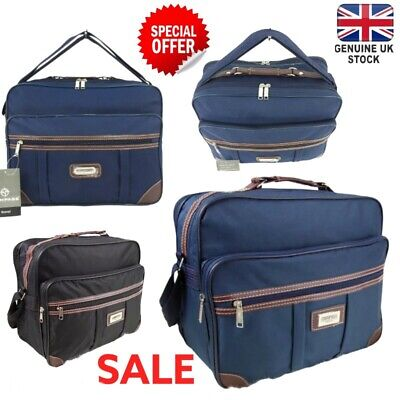 Unisex Holdall Hand Luggage Cabin Bag Flight Overnight Case Travel Business Work • 11.95£