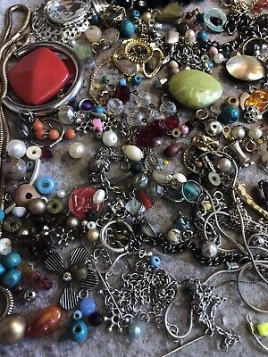 Jewellery Costume Broken Bits & Pieces Suitable For Jewellery Making Joblot • 5£