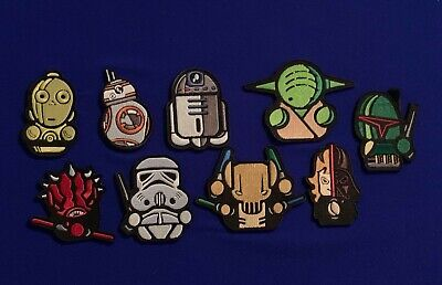 £4.99 • Buy Star Wars Morale Patch Embroidery Official Velcro® Tactical Disney Marvel Badge