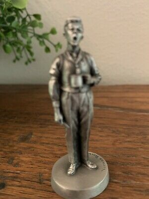 $ CDN13.39 • Buy Norman Rockwell Pewter Figurine MAN WITH CUP  Dave Grossman Designs 1980