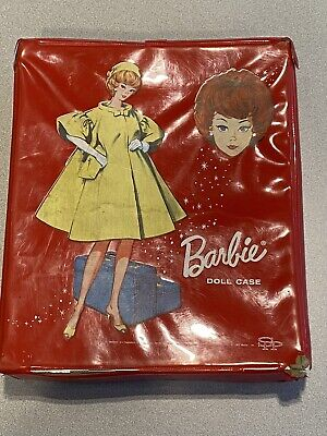 $ CDN28.33 • Buy Vintage Barbie Doll Set With Clothes And Accessories In Red Case