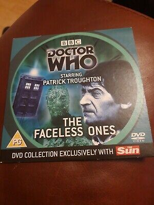 Doctor Who DVD Episode The Faceless Ones Sun Newspaper DVD Collection 2006 • 0.90£