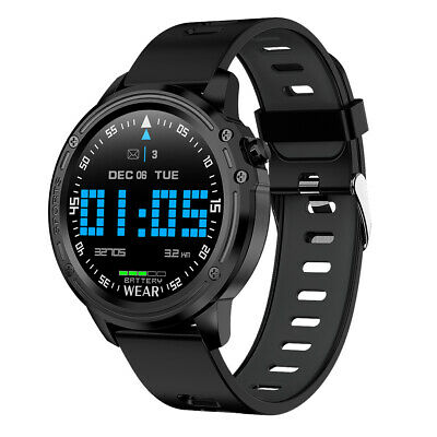 AU47.96 • Buy L8 Smart Watch Bluetooth ECG PPG Heart Rate Sleep Monitor Sport Fitness Tracker