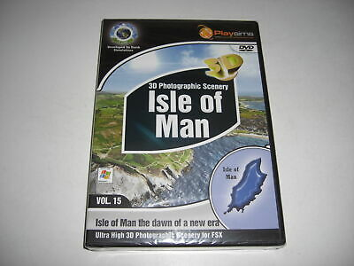ISLE OF MAN Photographic Scenery Pc Add-On Microsoft Flight Simulator X FSX NEW • 29.99£