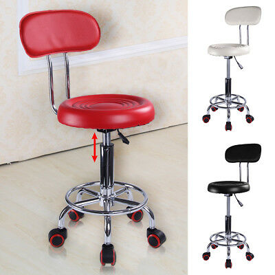 £23.99 • Buy Beauty Spa Salon Stool Gas Lift Hairdressing Barber Tattoo Massage Chair 3 Color
