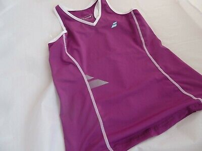 Babolat Girls Tennis Top Tank Top T-shirt Size 12-14 Years • 7.99£