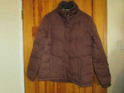 Ladies Peter Storm Brown Short Padded Puffer Jacket Size 12 • 3.50£