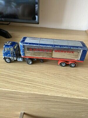Vintage Corgi Major Toys 1137 Ford Articulated Truck & Express Services Trailer • 12£