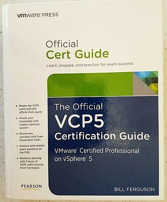AU17.95 • Buy The Official VCP5 Certification Guide By Bill Ferguson VMWare Press Pearson