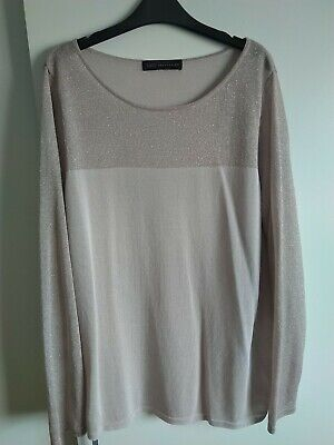 £9 • Buy Ladies M&S Blouse, Top Size 16 Christmas Party Work