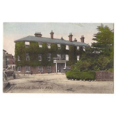 MAIDENHEAD Skindle's Hotel, Postcard By Frith Postmarked Maidenhead 1905 • 9.95£
