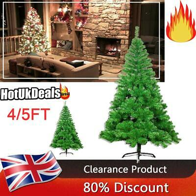 4FT 5FT Artificial Fiber Optic Christmas Tree Xmas Light Traditional Decorations • 16.19£