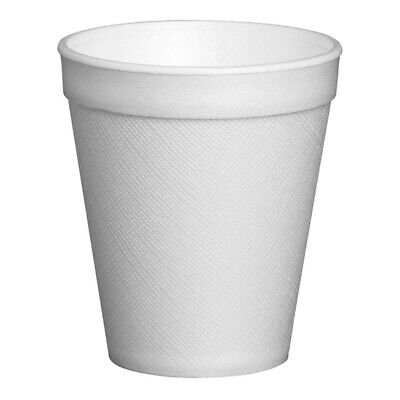 Polystyrene Insulated Disposable Foam Cups Takeaway Hot Drink 12oz • 20£
