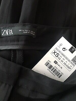 AU20 • Buy New Zara Black Pants Sz Xs