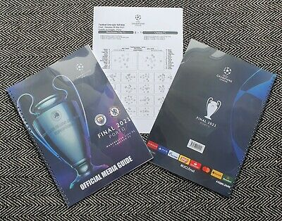 £12.99 • Buy Chelsea V Manchester City CHAMPIONS LEAGUE FINAL OFFICIAL MEDIA GUIDE 29/5/21!!!